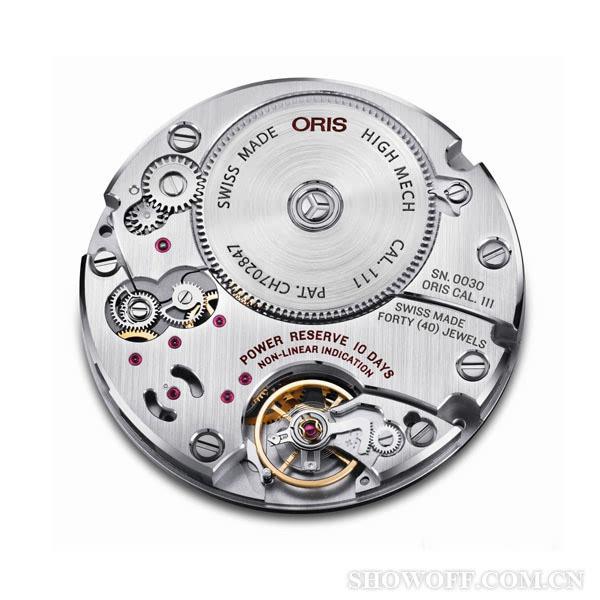 ORIS全新Calibre 111限量版腕表发布