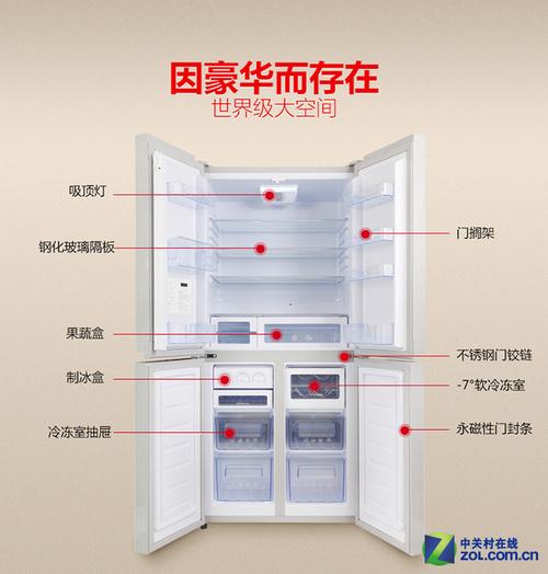 分类保鲜更健康 八款多开门冰箱全推荐