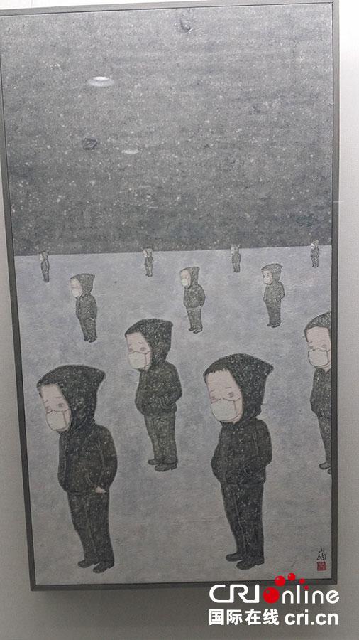 """笔墨延异—""""中国当代青年水墨艺术展""""在首尔中国文化中心开幕图片"""