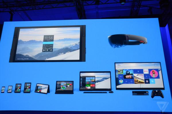 """Build 2015发布会简要回顾:Windows 10把iOS/Android""""都吃了""""的照片 - 13"""