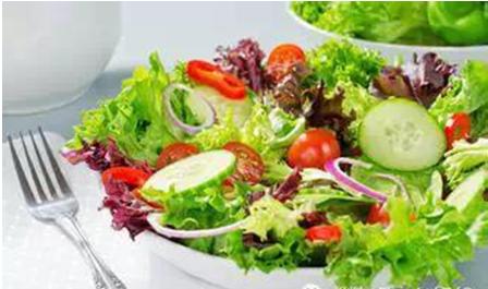step 1. 先吃蔬菜