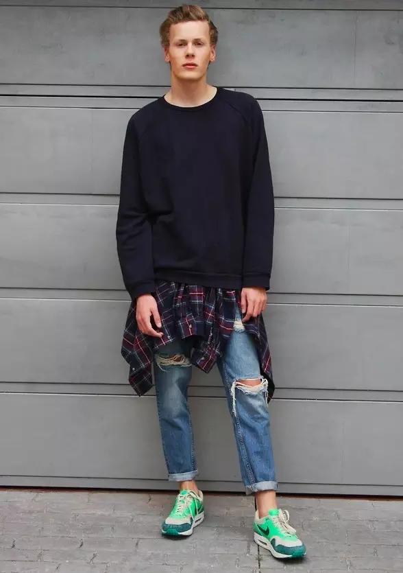 MAN|穿上大破洞牛仔裤上班