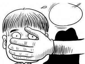 拐杖简笔画-漫画卡通,小孩 桃子