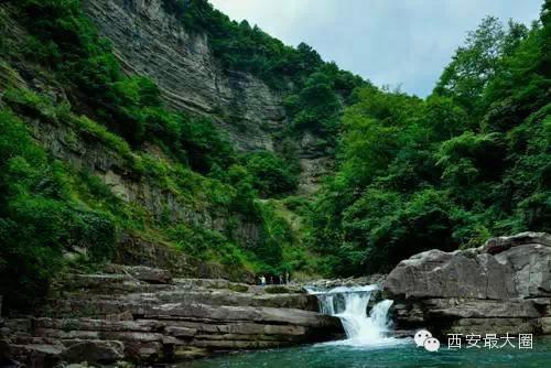 旅游推荐 陕西秦岭深处的一个景点