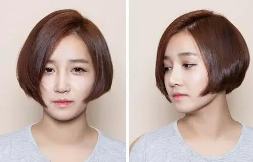 大脸女生的福音,什么发发型显脸小!图片