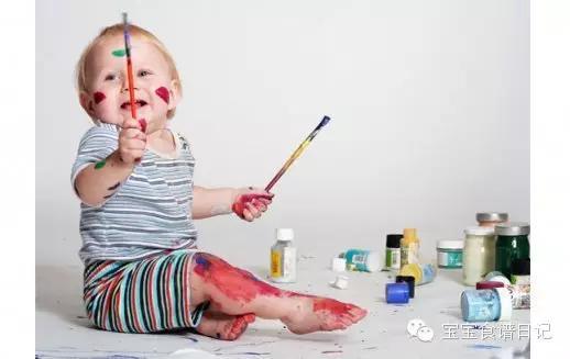 孩子学画画