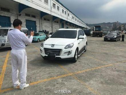 赴大陆自驾游的台湾汽车