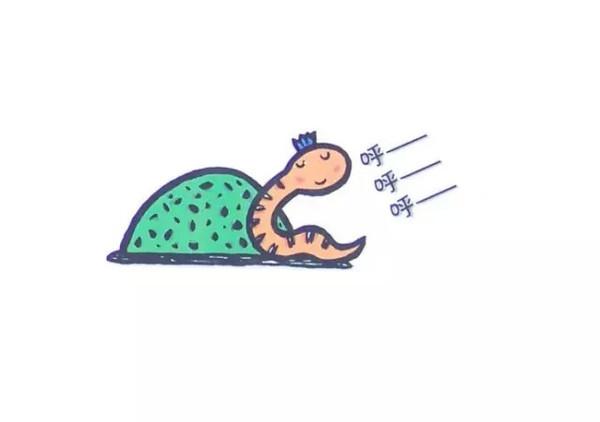 精选绘本 好饿的小蛇