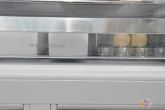 由五个PP食品级储存盒+一个大容量蛋盒组成的多功能收纳抽屉,可以将食物分别独立进行储存,PP食品级收纳盒可以对食物继续微波加热,大大方便了用户使用的效率,为特别需要的食物,提供了合理的储存空间。