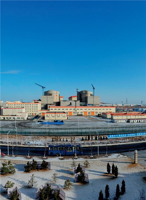 辽宁红沿河核电站实景图 图片来源 中广核网站