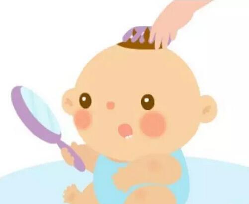 【宝宝头发稀少】宝宝头发稀少黄软怎么回事?图片