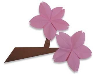 折纸梅花步骤图解法