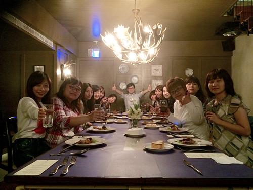 郑元畅与粉丝共进晚餐
