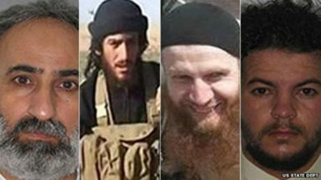 美国悬赏2000万美元 通缉4名IS头目