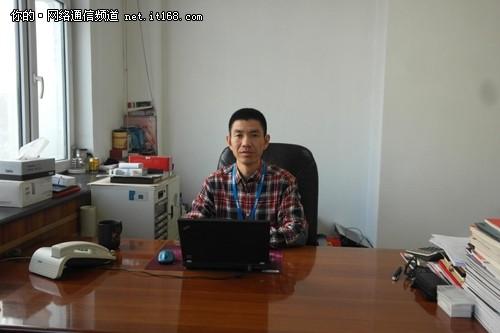 新疆虹联信息(软件)有限责任公司副总经理杨利平