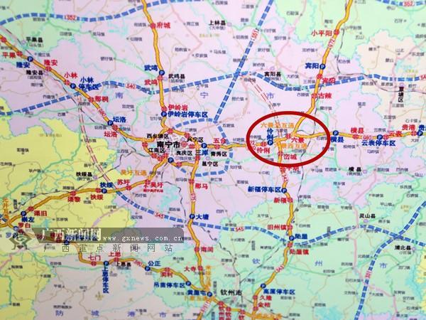 项目工程:柳州—合山—南宁高速图片