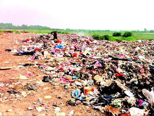 新洲区暗访发现,部分新城区环境污染治理仍不到位.