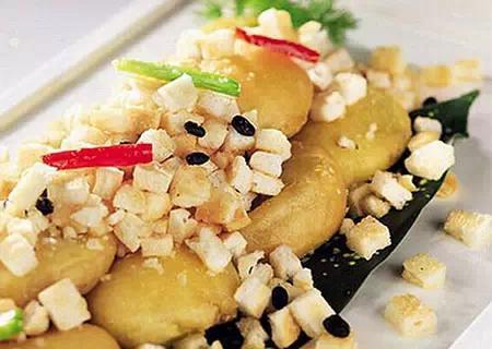 豆酥_豆酥茄饼