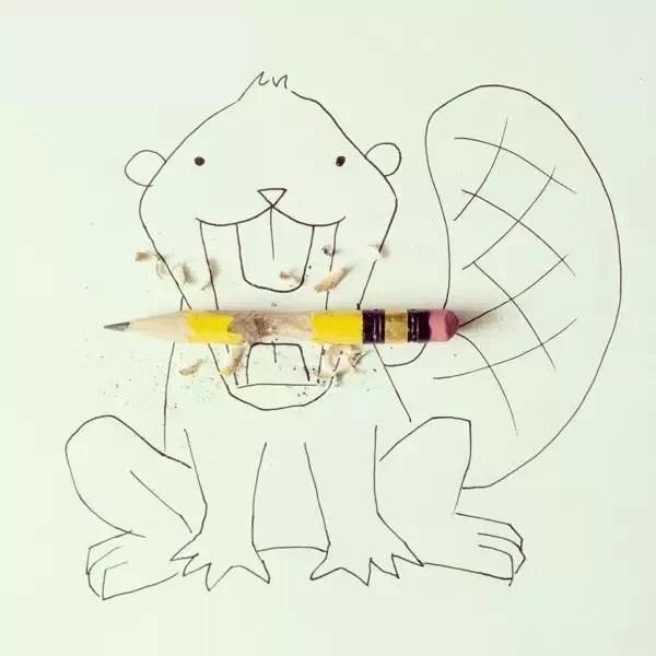 21款简单又有创意的简笔画,孩子见了一定狂喜欢