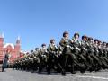 纪念卫国战争胜利70周年红场大阅兵
