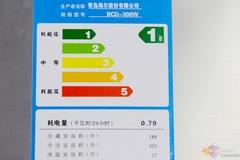 这款海尔无霜冰箱的耗电量相对偏高,日耗电量达到了0.79度,符合国家一级能效水平标准。提高冰箱储藏容积同时,小小地牺牲了产品能耗。