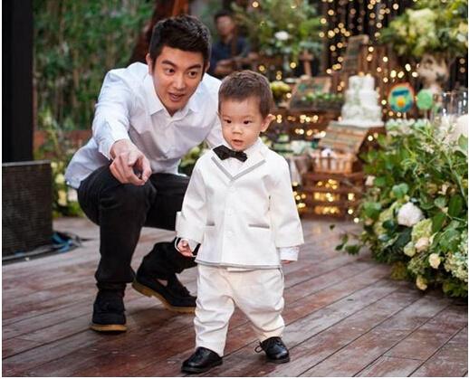杜江与儿子嗯哼