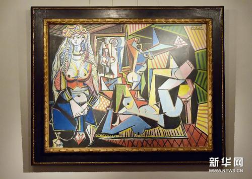毕加索名画 以11.13亿拍出高清图片