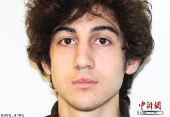 本地时刻2015年1月5日,美国波士顿,美国联邦法院对嫌犯焦哈尔·萨纳耶夫停止首日休庭审讯。