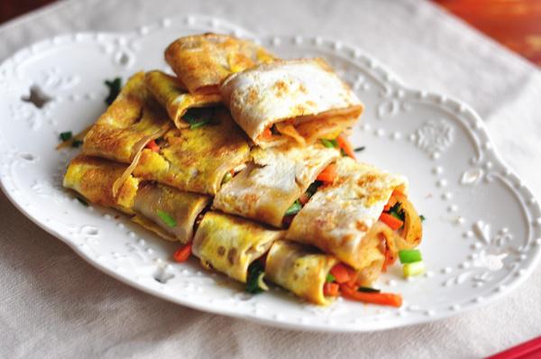 【初夏】在家学好美食路边摊--烤冷面美味哪里做出温州图片