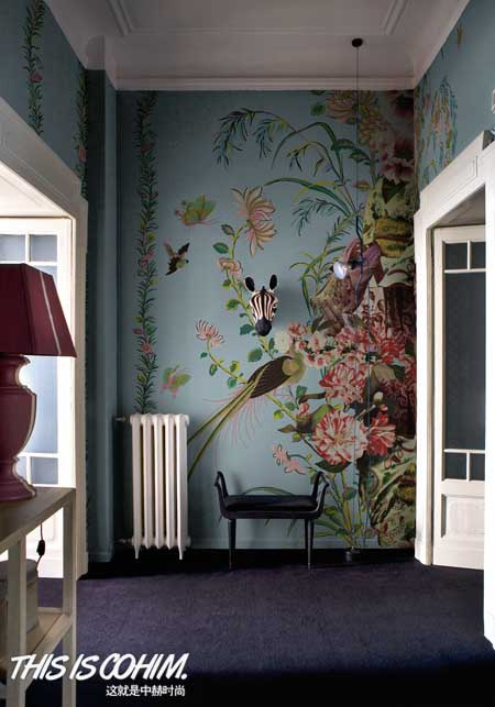 未来的家居装饰设计师——手绘墙