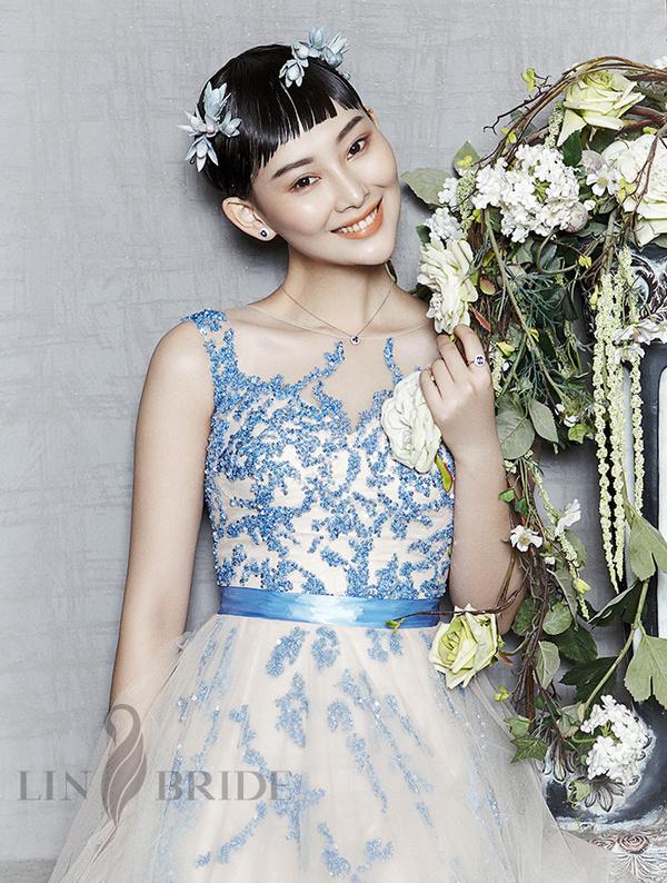 """《新娘》杂志——""""李昕岳""""完美演绎奢华珠宝大片"""
