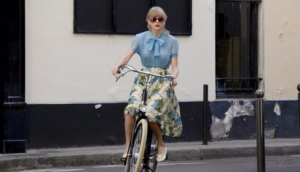 霉霉Taylor swift的第一辆自行车-领骑网