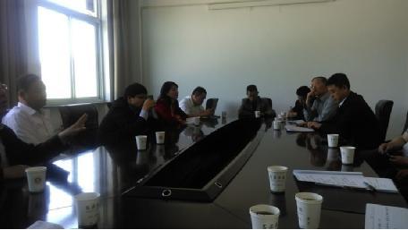 吕梁学院和离石区召开大学生创业对接座谈会