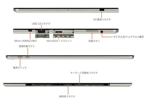 配Core M芯 NEC新可拆键盘2合1平板笔电