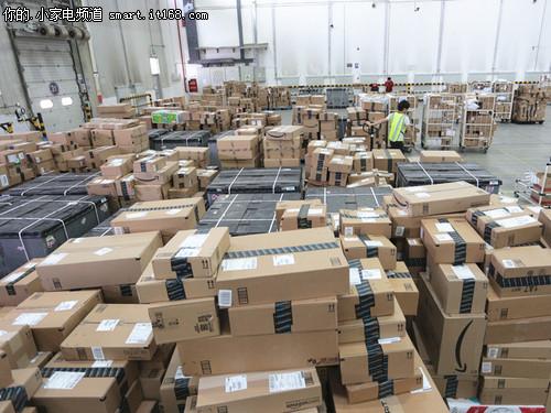 海外购商品存储区