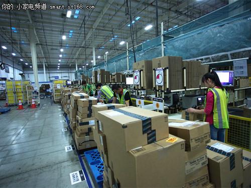 亚马逊海外购分拣工作站
