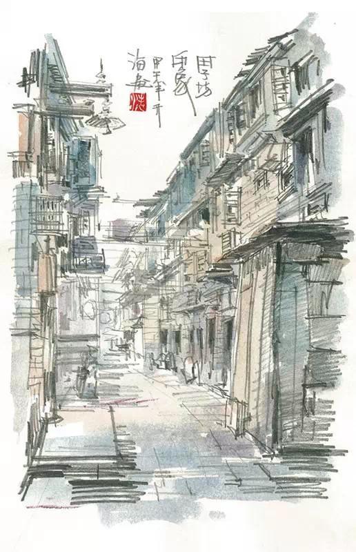田子坊,豫园,新天地……这些上海地标性建筑你一定去过,但是它们手绘