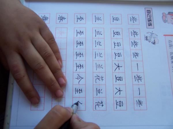 望京少儿硬笔书法 小学生怎样写钢笔字