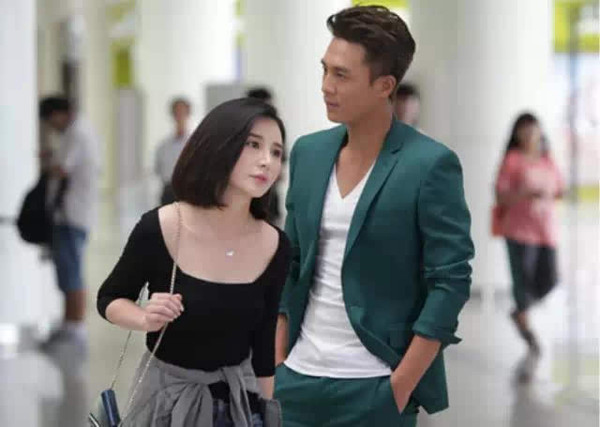 杜淳与张嘉倪,杨璐分手后,被传与女星熊乃瑾合作新剧擦出爱情火花,已