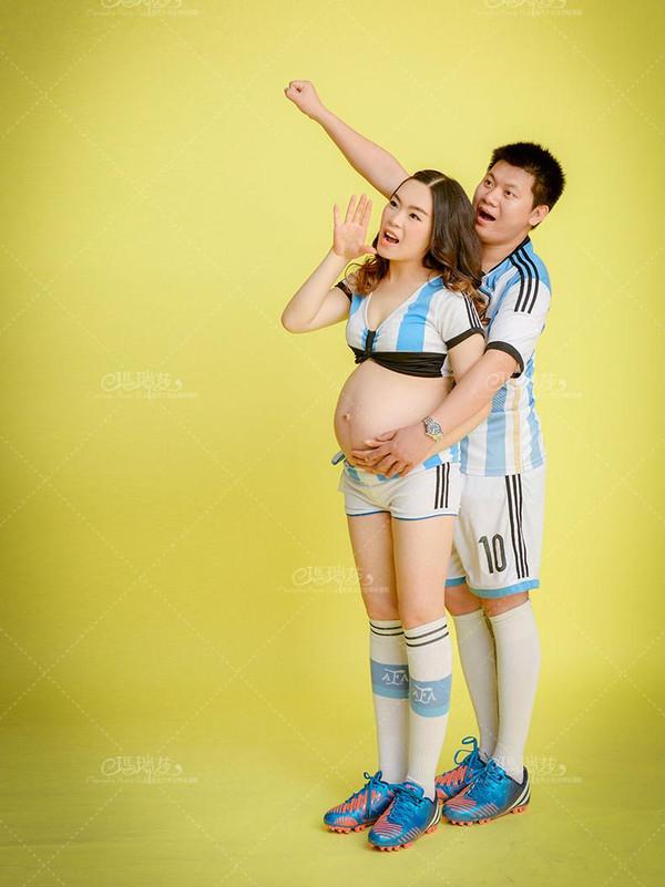 玛瑞莎孕妇照欣赏:同一个梦