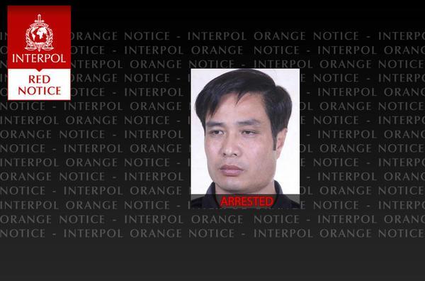 国际刑警安排对孟某公布白色通缉令。