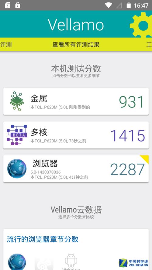 Vellamo/3D Mark普通及增强场景跑分
