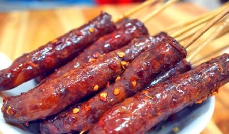 余杭美食攻略:以香肠出名的美食山冬瓜圈长沙哪里美食街在图片