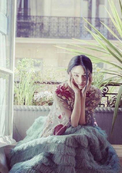 张馨予扮花仙子