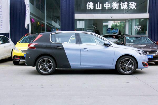 女车手的诞生 标致 308s 双色 改装 版提车记 搜狐高清图片