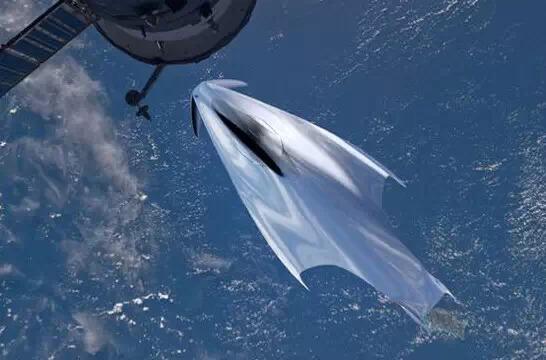 法拉利要进军宇宙事业?设计师描绘太空飞船概念图