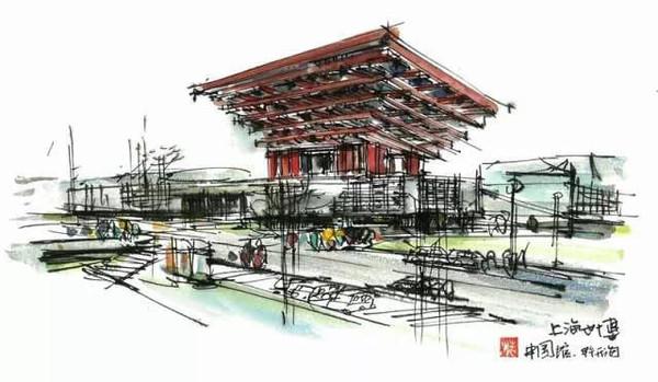 欣赏:手绘上海11大地标建筑