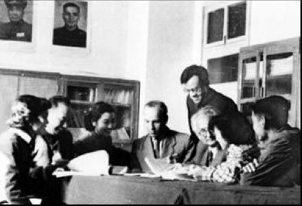 苏联援华专家。