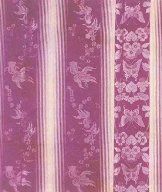 艺术 正文  蜀锦的品种繁多,传统品种有雨丝锦,方方锦,铺地锦,散花锦图片