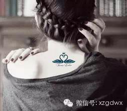 对于女生来说最完美的纹身位置图片